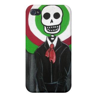 calaveraのDIA DE LOS MUERTOSのマリアッチ iPhone 4/4S カバー