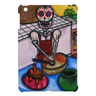 CALAVERAのLA COCINERAのLA JEFAの絵画 iPad MINI CASE