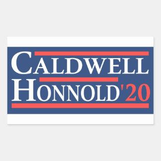 Caldwell Honnold 2020年 長方形シール