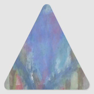 Calebのハート 三角形シール