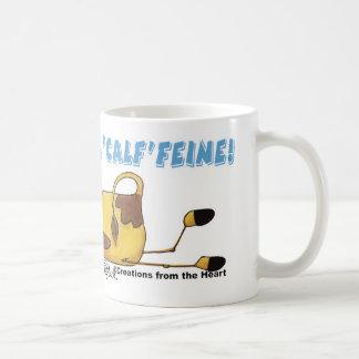 Calffeineの牛 コーヒーマグカップ
