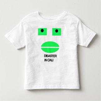 caliのティーの災害 トドラーTシャツ
