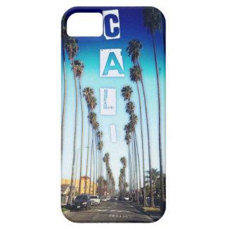 Caliのヤシの木(青い) iPhone SE/5/5s ケース