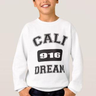 CALIの夢の黒916.png スウェットシャツ