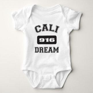 CALIの夢の黒916.png ベビーボディスーツ