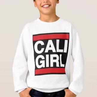 Caliの女の子の赤 スウェットシャツ