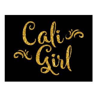 Caliの女の子 ポストカード
