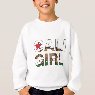 Caliの女の子Repのゆとり スウェットシャツ