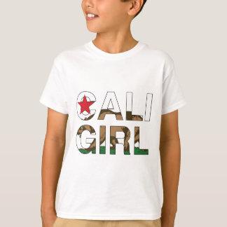 Caliの女の子Repのゆとり Tシャツ