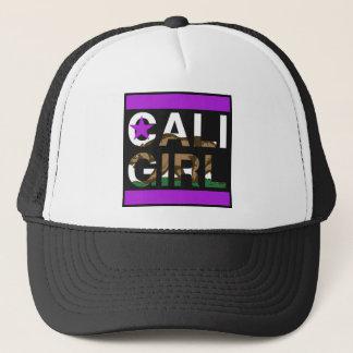 Caliの女の子Repの紫色 キャップ