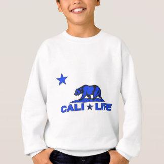 caliの生命星blue.png スウェットシャツ