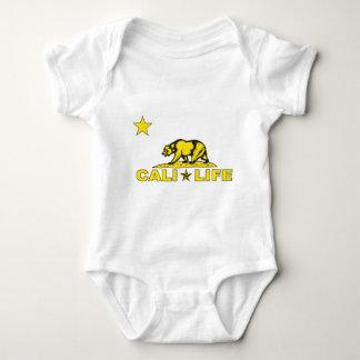 caliの生命星yellow.png ベビーボディスーツ