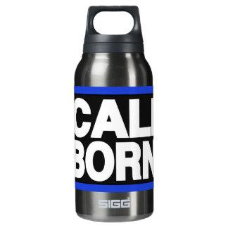 Caliは2青を生まれます 断熱ウォーターボトル