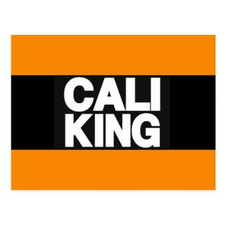 Cali王2オレンジ ポストカード