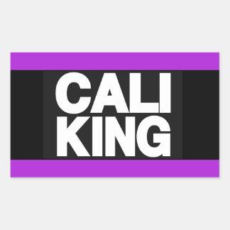 Cali王2紫色 長方形シール