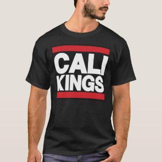 Cali王Redおよび黒 Tシャツ