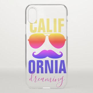 Calif Orniaの夢を見ること iPhone X ケース