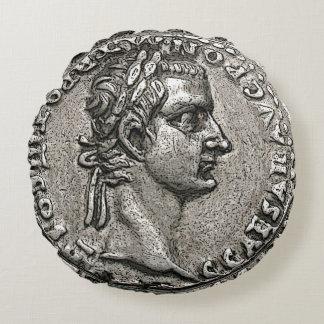Caligulaのローマ皇帝Gaiusシーザー ラウンドクッション
