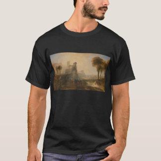 Caligulaの宮殿および橋-ウィリアムターナー Tシャツ