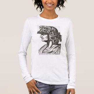 Caligulaシーザー(12-41広告)、1596年(版木、銅版、版画) 長袖Tシャツ