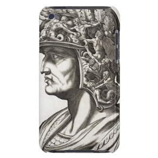 Caligulaシーザー(12-41広告)、1596年(版木、銅版、版画) Case-Mate iPod Touch ケース