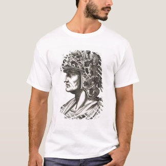 Caligulaシーザー(12-41広告)、1596年(版木、銅版、版画) Tシャツ