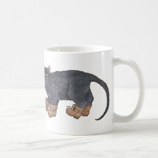 Caligula (小さいブーツ) コーヒーマグカップ