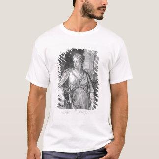 Caligula (版木、銅版、版画)のCaesoniaの妻 Tシャツ