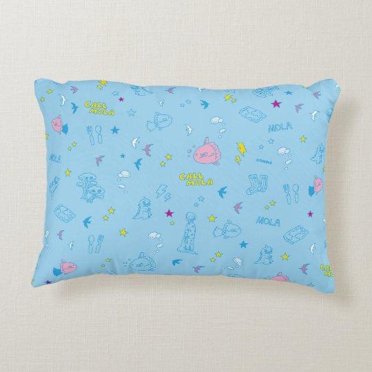 CALL MOLA Cushion(Sky Blue) アクセントクッション