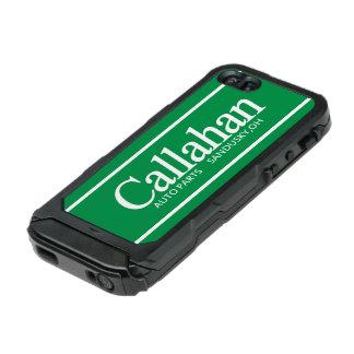 Callahanのレトロの自動車部品 ウォータープルーフiPhone SE/5/5sケース