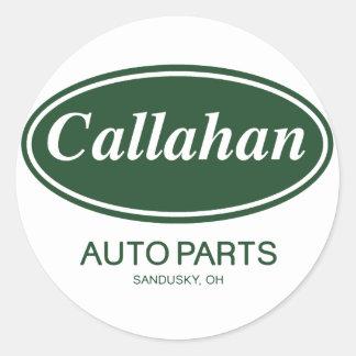 Callahanの自動車部品 丸形シール・ステッカー