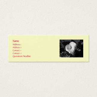 Calleユリの接触カード スキニー名刺
