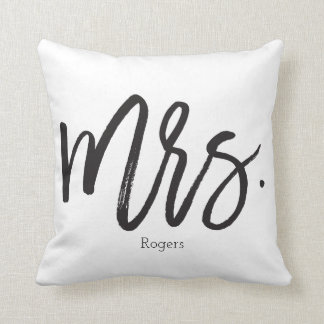 Calligraphy Pillow夫人 クッション