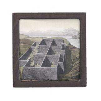 Callo、「Leからのペルーのインカ人宮殿の残物、 ギフトボックス