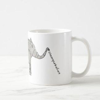 Callum著Steampunkefantのマグ コーヒーマグカップ