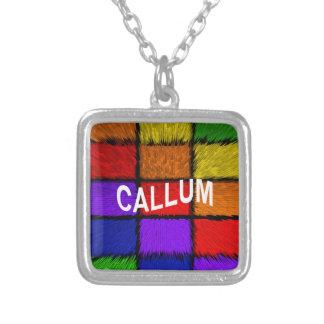 CALLUM シルバープレートネックレス