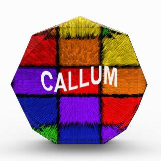 CALLUM 表彰盾