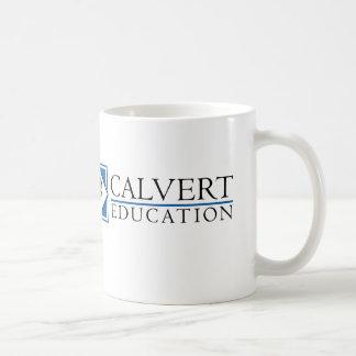 Calvertの教育のマグ(白い) コーヒーマグカップ