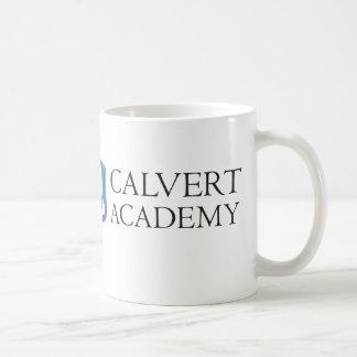 Calvertアカデミーのマグ(白い) コーヒーマグカップ