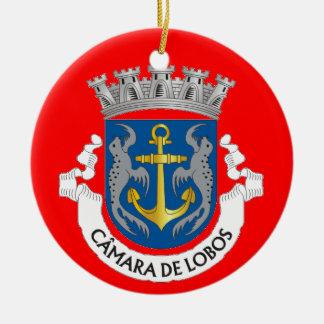 Camara deロボスMadeiraChristmasのオーナメント セラミックオーナメント