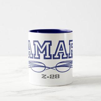 Camaro Z-28のマグ ツートーンマグカップ