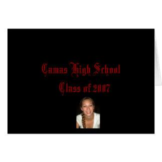 Camasの2007年の   高校の授業 カード