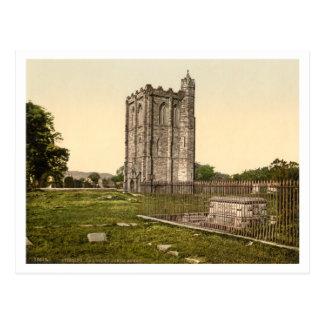 Cambuskennethの大修道院、スターリング、スコットランド ポストカード