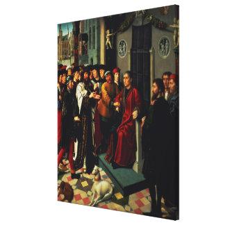 Cambyses 1498年の判断 キャンバスプリント