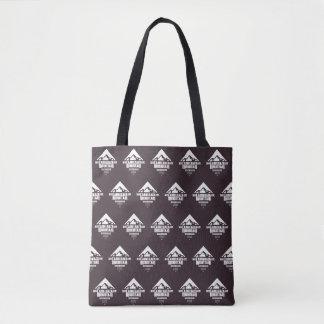 Camelback山(暗いパターン) -トートバック トートバッグ