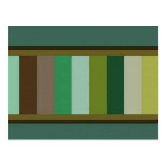 Cameleonパレット芸術 ポストカード