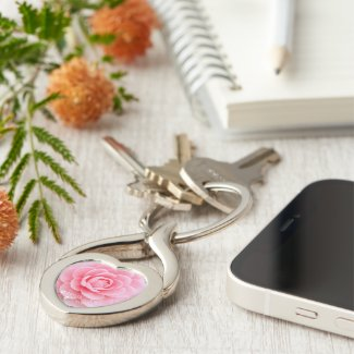 Camellia Otome [Metal Key Chain] キーホルダー