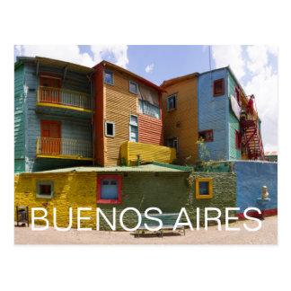 CaminitoのLa Boca、ブエノスアイレス ポストカード