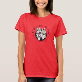 Camiseta Mujer Roja Tシャツ
