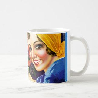 Campanha DaのボアのBebidaのコーヒーヴィンテージの広告ポスター コーヒーマグカップ